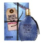 DIESEL Fuel for Life Denim Pour Homme Eau de Toilette (EDT) 75 ml Spray
