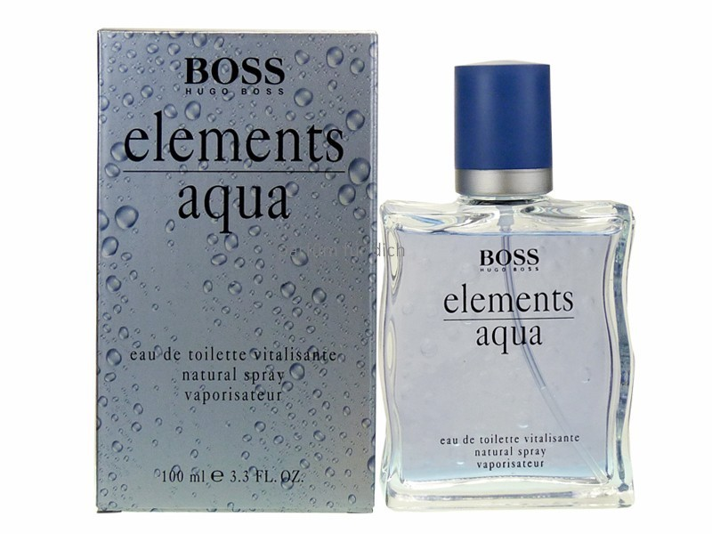 hugo boss elements aqua eau de toilette edt 100 ml spray brands more. Black Bedroom Furniture Sets. Home Design Ideas