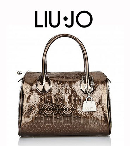 LIU JO Bauletto S Melanie Light Wood, Handtasche Damentasche Henkeltasche