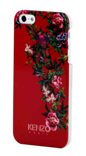 KENZO Handy Back Cover Exotic, Schutzcover Rot, iPhone 5/5S