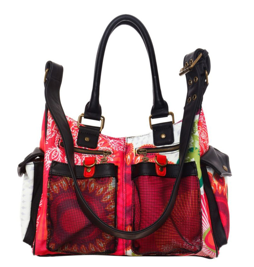 large discount quite nice so cheap DESIGUAL Bols London Floreada, Damen Henkeltasche 41X5179 ...